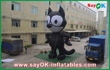 5M Oxford Cloth Inflatable Characters Cartoon Inflatable Toys For Trade Show